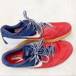 Nike Metcon 3 Freedom Red White Blue Olympics